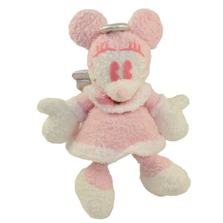 Disney Bean Bag Plush - ANGEL MINNIE WRISTLET PURSE (Tokyo Disneyland Excl.)(Mickey Mouse)(8 inch)