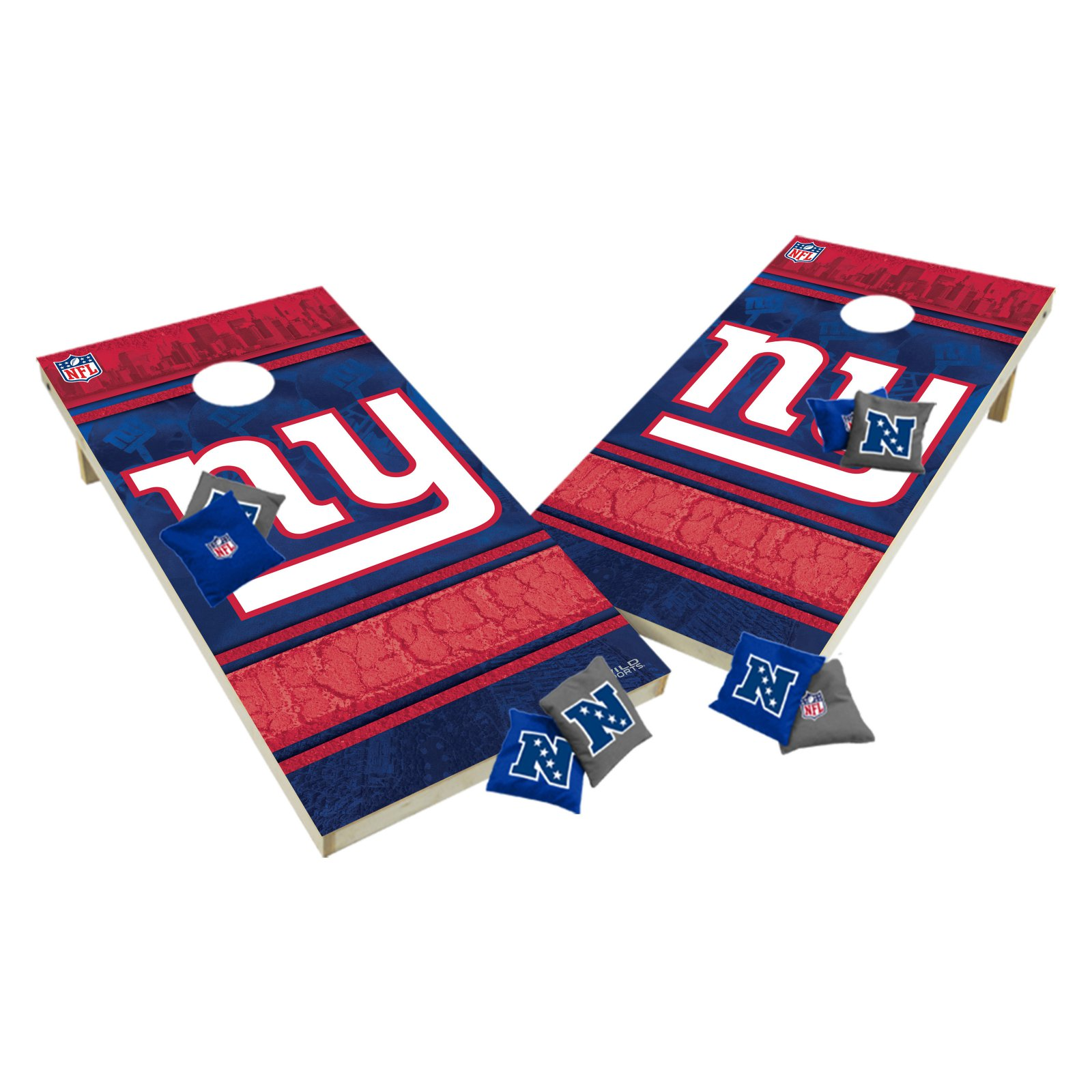 NFL Tailgate Toss XL Shields Regulation Cornhole Set