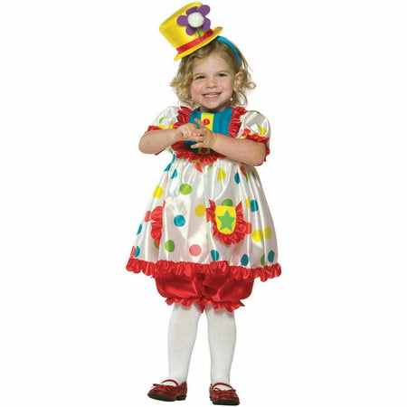 Clown Girl Child Halloween - Clown Halloween Costume Star Clown Girl