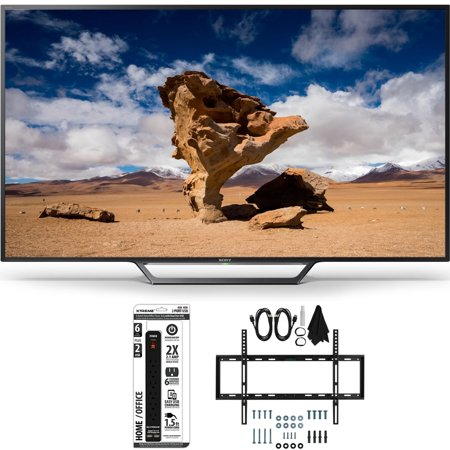 Sony KDL-40W650D 40-Inch Class Full HD 1080P TV with Slim Flat Wall Mount Bundle includes Television, Slim Flat Wall Mount Ultimate Kit and Power Strip with Dual USB Ports