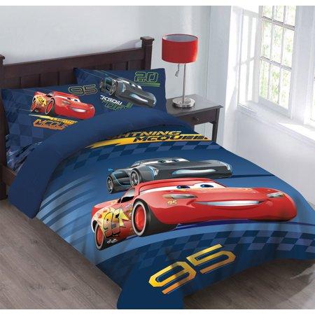 - Disney Cars Velocity Bedding Comforter Set