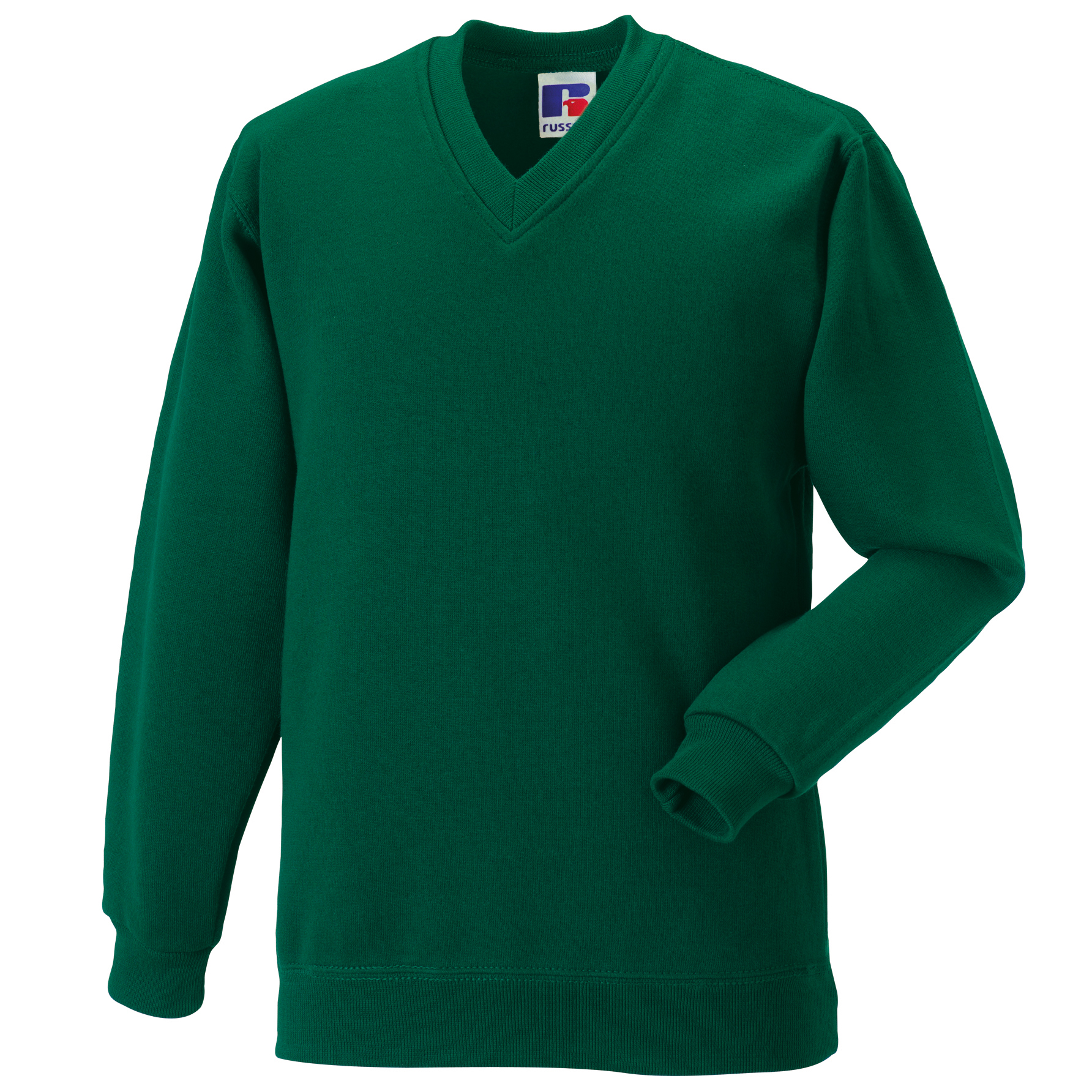 Kids Russell Jerzees Schoolgear V-neck Set-in Sleeves Sweatshirt