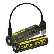 USB Rechargeable Battery 3400