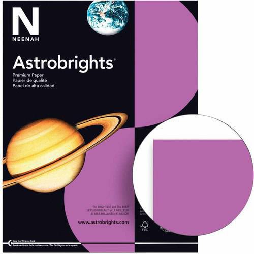 """Astrobrights Copy Paper, 8.5 x 11"""", 24 Pound, Multiple Colors, Pack of 500 Sheets"""