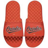 Baltimore Orioles ISlide Youth Wordmark Logo Slide Sandals - Orange