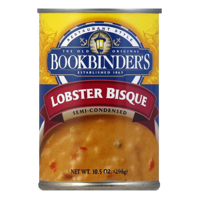 Bookbinders Lobster Bisque, 10.5 FO (Pack of 6) by