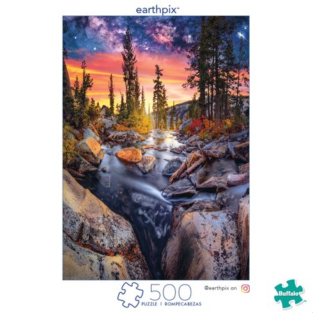 Enchanted Forest Jigsaw Puzzle - Buffalo Games - Earthpix Collection - Forest Magic Hour - 500 Piece Jigsaw Puzzle