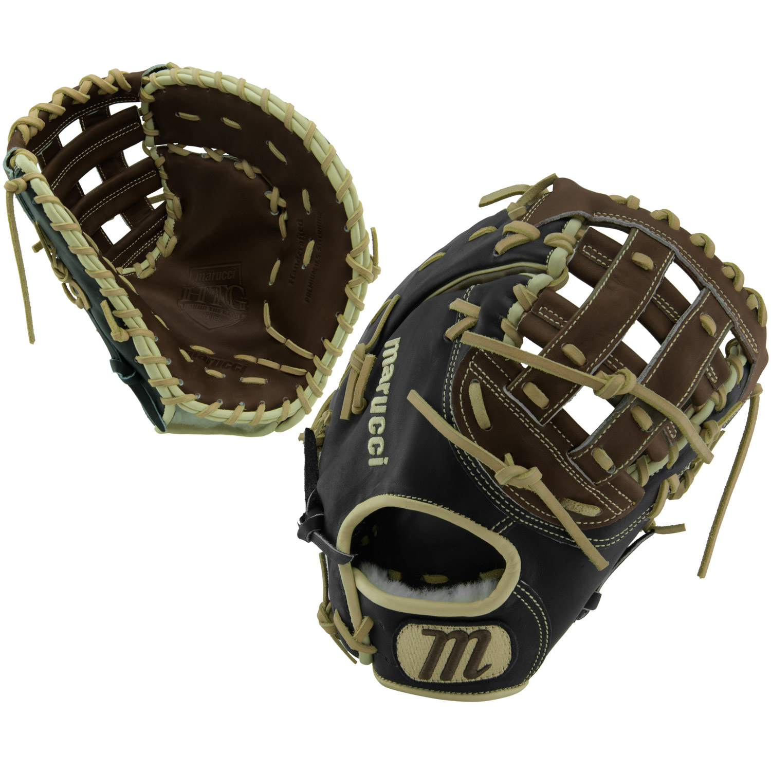 "MARUCCI HTG Honor The Game 12.5/"" First Base Mitt Right Hand Throw MFGHG125FB-KR"