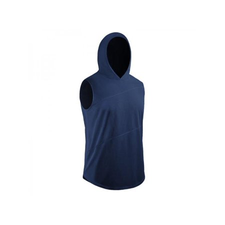 Topumt Men Sport Vest Casual Hoodie Sleeveless Quick-drying Sports Tops Sports Shirts Tank Tops Tee Slim Fit Gym Fit Dry Sleeveless