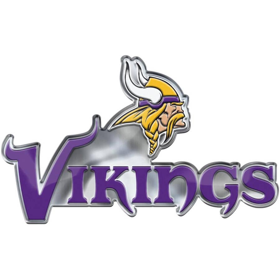 NFL Minnesota Vikings Alternative Color Bling Emblem