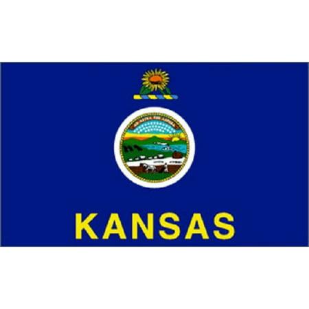 3x5 Kansas Flag 3