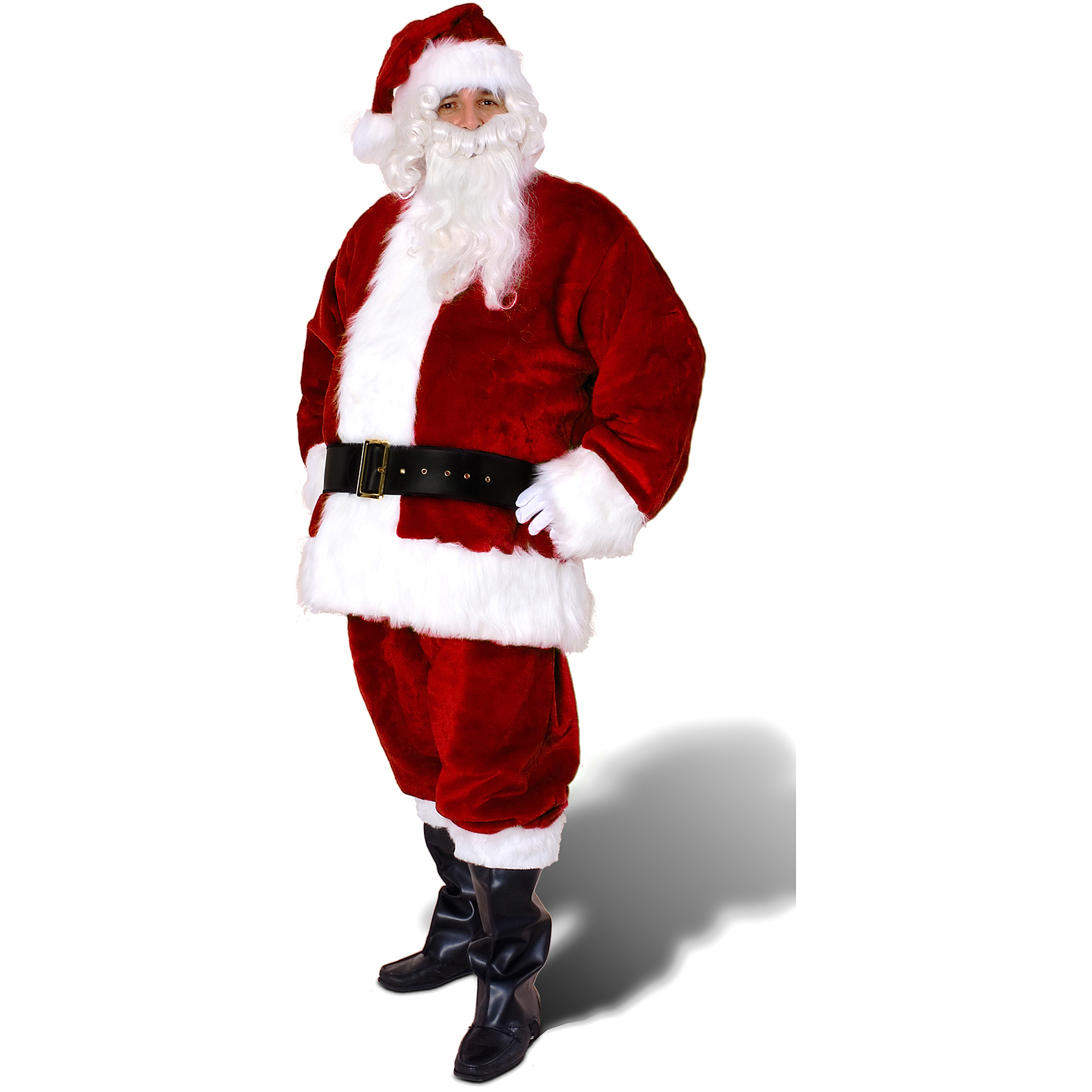Sunnywood Premium Santa Claus Suit Adult Costume