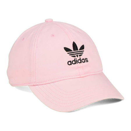 adidas Women's Originals Relaxed Fit Strapback Cap Pink Black ()