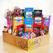 California Delicious Rainbow of Ghirardelli Collection Gift Box
