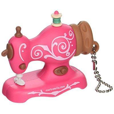 Smartneedle USB4SWPIN USB 4 Gb Flash Drive Pink Antique Sewing Machine Art and Craft Product
