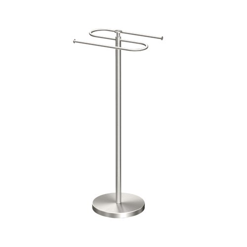 Gatco Classic Hooks Free Standing Towel Stand by