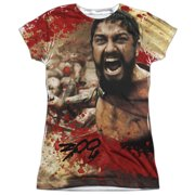 300 Bloody Mess Juniors Sublimation Shirt