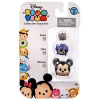 Disney Tsum Tsum Mickey, Hiro & Sven Mini Figures, 3 Pack