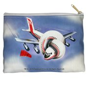 Airplane Poster Accessory Pouch White 12.5X8.5