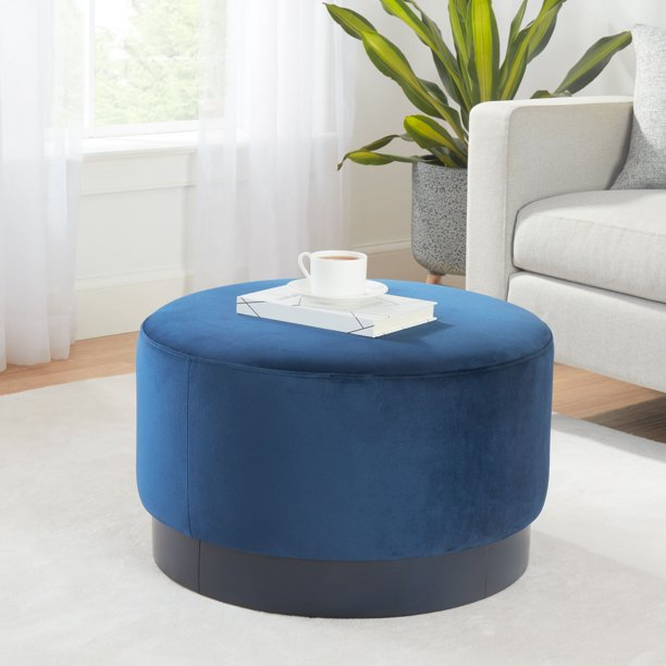Better Homes & Gardens Addison Round Ottoman, Multiple Colors