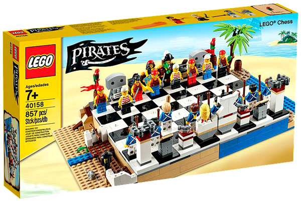 Lego Pirates Chess Set #40158 by Lego