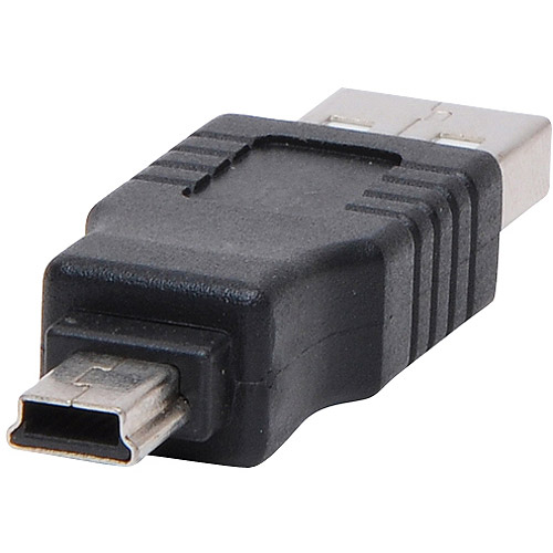 4XEM Mini USB to USB Adapter Male/Male