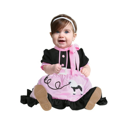 50s Poodle Skirt Infant Costume - image 1 of 1