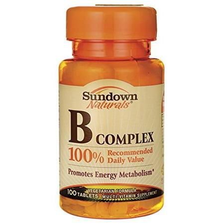 Sundown Naturals Vitamin B Complex Reviews