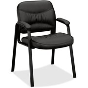 VL643 Leather Guest Leg Base Chair
