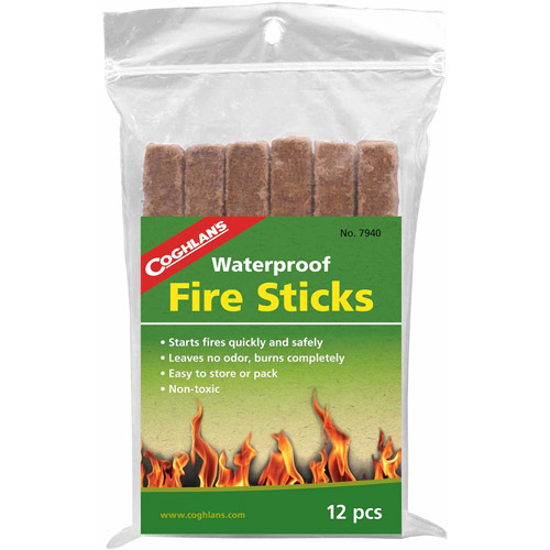 Coghlan's Fire Sticks, 12 Pack