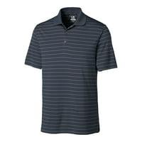 Cutter & Buck DryTec Franklin Striped Performance Golf Polo