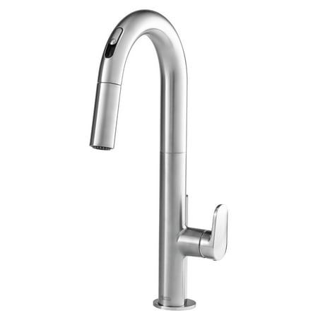 American Standard Beale Single-Handle Pull Down Kitchen Faucet With  Selectronic Hands-Free Technology in Stainless Steel
