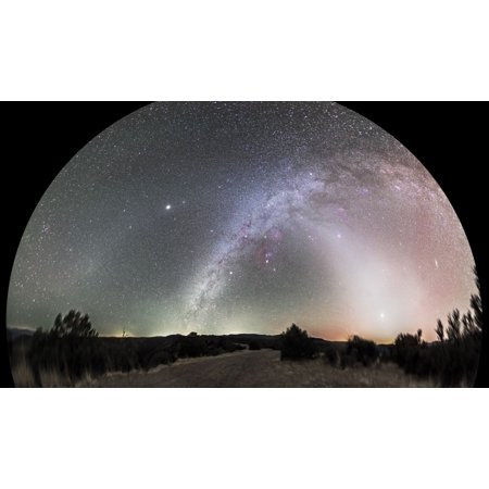 Glow In The Dark Items Wholesale (Ghostly glows of a truly dark Sky Poster Print - Item #)