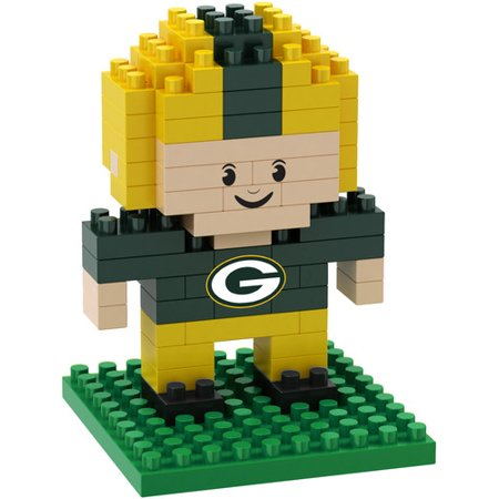 Green Bay Packers 3D Brxlz - Player (Green Bay Packers Nfl 3d Helmet Brxlz Puzzle)