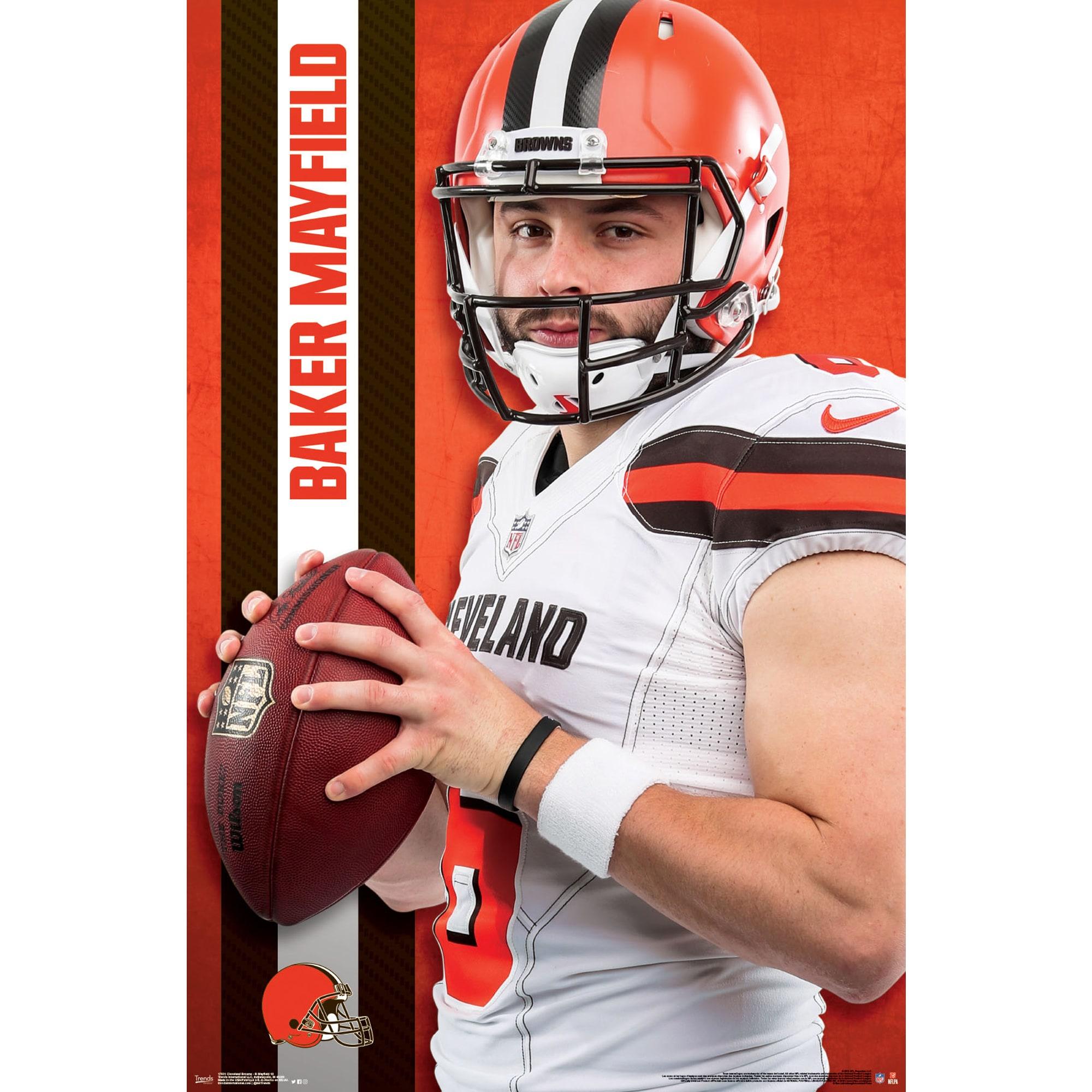 Helmet Black Framed Version 22.375 x 34 Trends International NFL Cleveland Browns