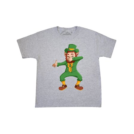 St. Patrick's Day Dabbing Leprechaun Youth - Girl Leprechaun