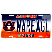 Auburn WAREAGL novelty vanity license plate
