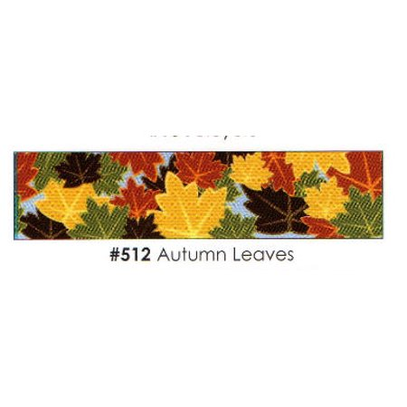 Autumn Leaves 3 Strips Edible Frosting Photo Cake Border Decoration ()