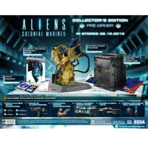 Aliens: Colonial Marine Collector Edition (PS3)
