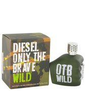 Only The Brave Wild Eau De Toilette Spray 2.5 oz For Men 100% authentic perfect as a gift or just everyday use