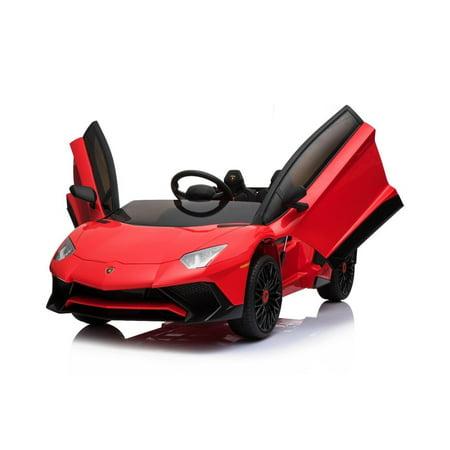 Sport Limited Upgraded Edition Lamborghini SV 12v Kids Ride On Car with Remote (Lamborghini Limited Edition)