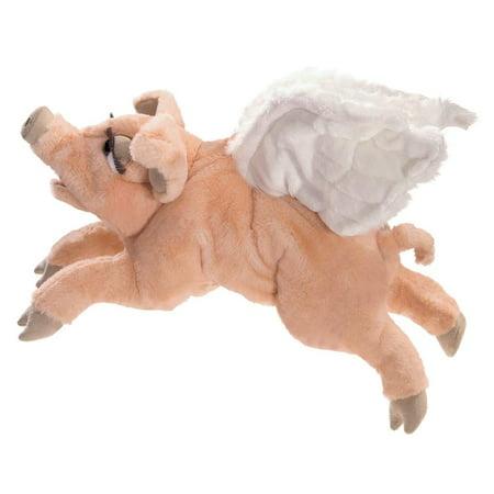 Hand Puppet - Folkmanis - Flying Pig New Toys Soft Doll Plush 3120 - image 1 de 3