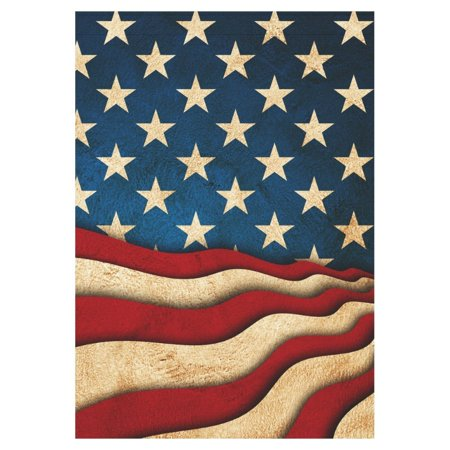 MYPOP Memorial Independence Day USA American Flag Long Garden Flag House Banner 28 x 40 inch](Banner 4th Of July)