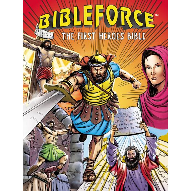 Bibleforce: The First Heroes Bible (Hardcover)