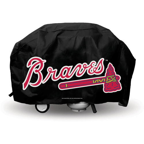 Rico Industries MLB Economy Grill Cover, Atlanta Braves