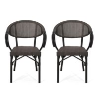 2-Pack Christopher Knight Home Meaux Outdoor Parisian Cafe Chair (22.75