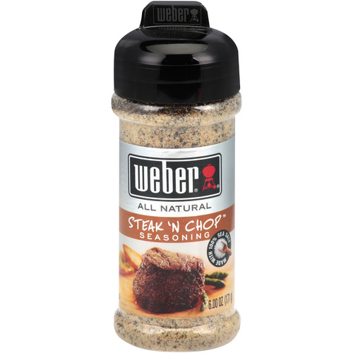 Weber Steak 'N Chop Seasoning, 6 oz