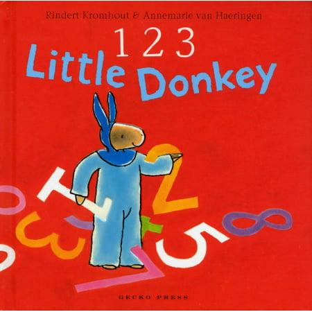 123 Little Donkey (Hardcover) (Donkey Headcover)