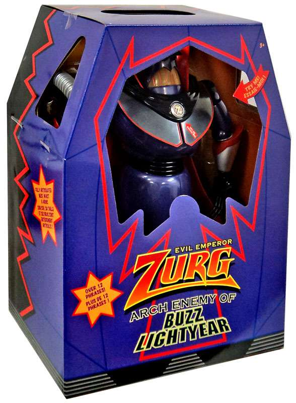 Toy Story Evil Emperor Zurg Action Figure [Arch Enemy of Buzz Lightyear] by