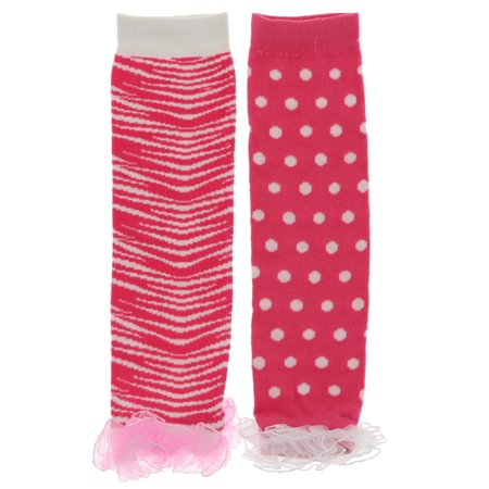 Frilly Trim (Princess Expressions Girls Frilly Trimmed Leg Warmers )